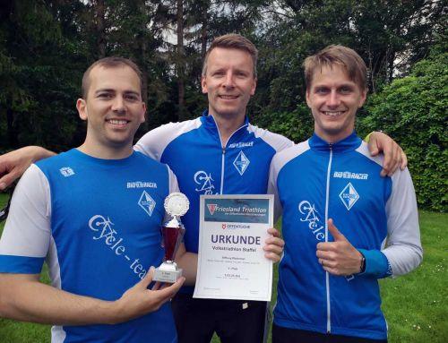 200 Triathleten am Start – Stiftung Wadentest in Bockhorn