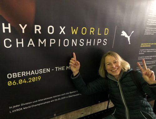 Hyrox One und wie ich Weltmeisterin in meiner AK wurde